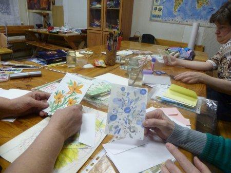 Творческие мастерские открыток и подарков