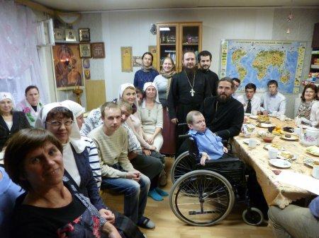 Домашний престольный праздник во имя святых Веры, Надежды,Любови и матери Софии